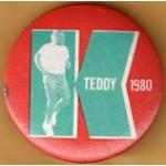 Kennedy EMK 44E - Teddy K 1980 Campaign Button