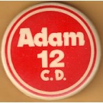 NJ 23R - Adam 12 C.D. Campaign Button