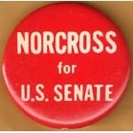 NJ 49D - Norcross for U.S. Senate Campaign Button