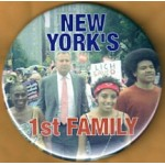 NY 31D - New York's 1st Family Campaign Button