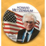 OH 3A - Howard Metzenbaum Senate 1988 Campaign Button