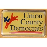 NJ 9N - Union County Democrats Lapel Pin