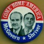 George McGovern Campaign Buttons