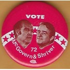 George McGovern Campaign Buttons (10)