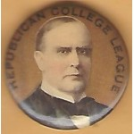 McKinley 2K - Republican College League (William McKinley) Campaign Button
