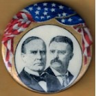 William McKinley Campaign Buttons (3)
