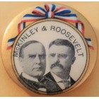 William McKinley Campaign Buttons (4)