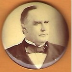 McKinley 9J - (William McKinley) Campaign Button