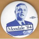 Mondale 10H  - Mondale '84 Campaign Button