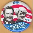 Walter Mondale Campaign Buttons (29)
