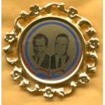 Nixon 18D - Nixon Agnew Campaign Button