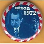 Nixon 18E - nixon  1972 Campaign Button