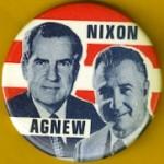 Nixon 4M - Nixon Agnew Campaign Button