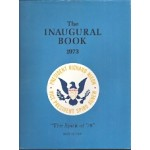Nixon 67D - The Inaugural Book 1973 President Richard Nixon Vice President Spiro Agnew Book