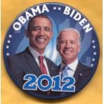 Obama 14B - Obama Biden 2012 Campaign Button