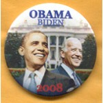 Obama 38A - Obama Biden 2008 Campaign Button