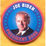 Obama 55C - Joe Biden President 2008 Campaign Button