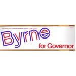 NJ 1T - Byrne for Governor Bumper Sticker