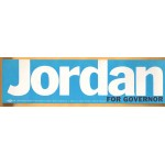 NJ 2Q - Jordan For Governor Bumper Sticker