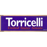 NJ 2R - Torricelli United States Senate Bumper Sticker