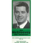 NJ 31C - Jim McGreevey For Governor  Paper Flyer