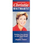 NJ 53C - Governor Christie Whitman '97 Paper Flyer