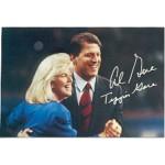 Clinton 126A - Al Gore Tipper Gore Post Card