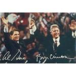 Clinton 128A - Al Gore Bill Clinton Post Card