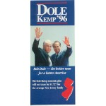Dole 14E - Dole Kemp '96 Paper Flyer