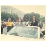 HHH 5D - Two  8 X 10 color photos of Hubert Humphrey