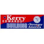 Kerry 5C - Kerry Edwards Building a Stronger America Bumper Sticker