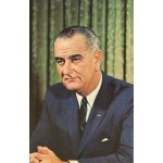 LBJ 15B - Lyndon Johnson Postcard
