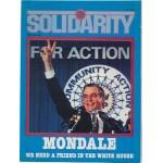 Mondale 3F  - UAW Solidarity Mondale Magazine