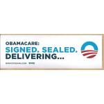 Obama 45H - Obamacare Bumper Sticker
