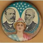 Parker 7B - Alton B. Parker H.G. Davis Campaign Button
