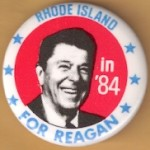 Reagan 75A - President Ronald Reagan Complete 50  States Campaign Buttons Set
