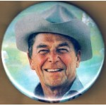 Reagan 9H - (Ronald Reagan) Campaign Button