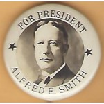 Smith 5E - For President Alfred E. Smith Campaign Button