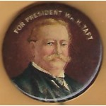 Taft 2F  - For President Wm H. Taft Campaign Button