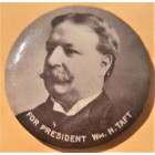 William Howard Taft Campaign Buttons (4)