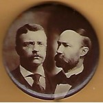 T.R. 1K - (Roosevelt Fairbanks) Campaign Button