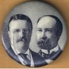 Theodore Roosevelt Campaign Buttons (5)
