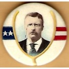 Theodore Roosevelt Campaign Buttons (4)