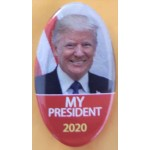 Trump 11M - My President 2020 Campaign Button