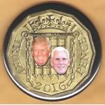 Trump 18H - Trump  Pence 2016 Campaign Button