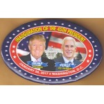 Trump 4L - Inauguration Of The 45th President   Trump President  Pence Vice President January 20, 2017 Washington , D.C. Campaign Button
