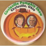 Trump 4M - Circleville Pumpkin Show Circleville, Ohio Trump Pence Campaign Button