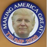 Trump 4Q - Making America Great! Trump 2020 Campaign Button