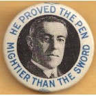 Woodrow Wilson Campaign Buttons (5)