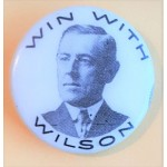 Wilson 2P- Win With WIlson Campaign Button